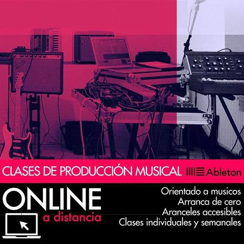 clases ableton live & producción musical online a distancia