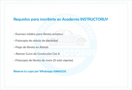 clases academia choferes