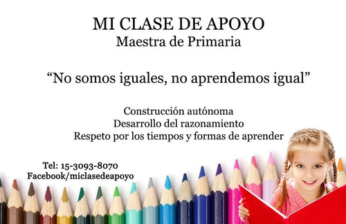 clases apoyo. clases
