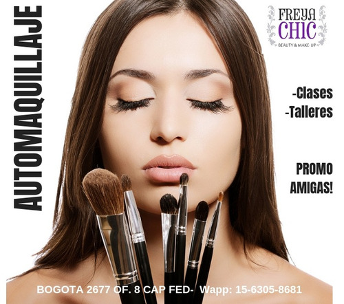 clases automaquillaje / maquilladora  - promo amigas!