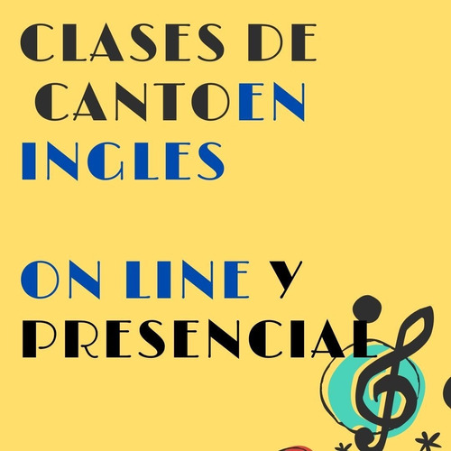 clases canto clase