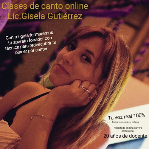 clases canto( clases