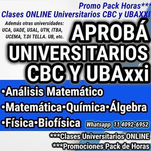 clases cbc y ubaxxi. clases online universitarios.