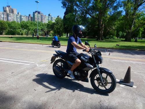 clases, curso motos principiantes, alquiler a2.2(300cc) roca
