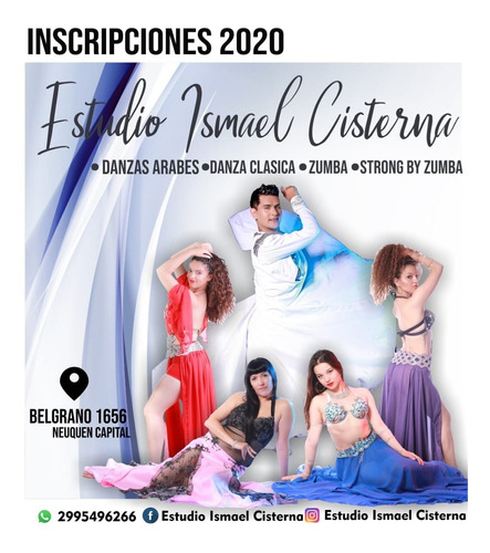 clases danzas arabes on line