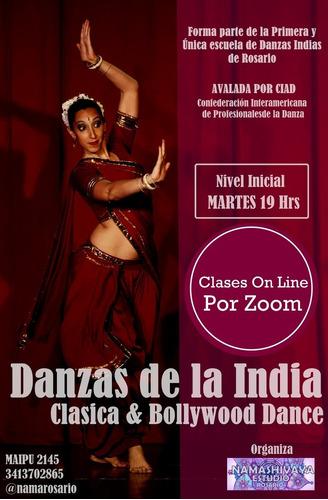clases danzas indias online