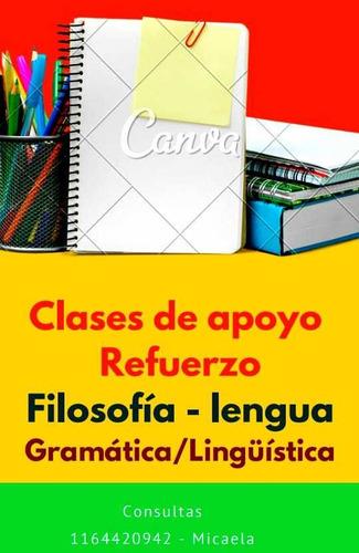 clases de apoyo-lengua y literatura-filosofía-ipc-semiología