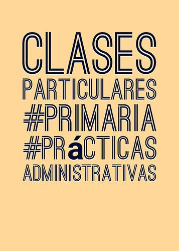 clases de apoyo primaria y administración de empresas