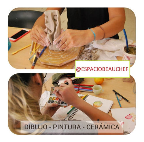 clases de arte - dibujo, pintura, cerámica, en caba.