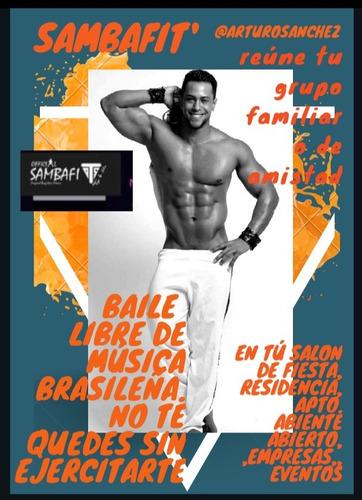 clases de baile samba fit libre música brasileña