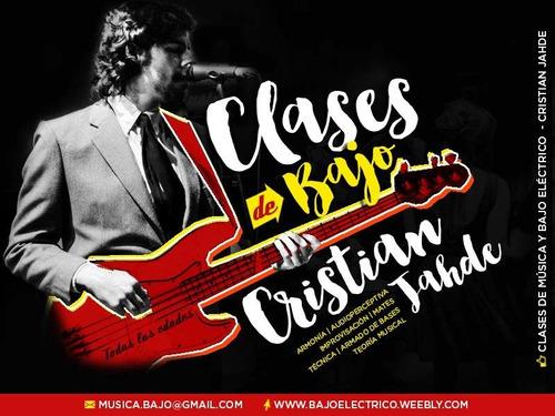 clases de bajo eléctrico y guitarra belgrano coghlan