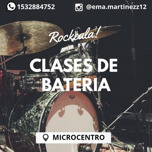 clases de batería en microcentro (frente tribunales)