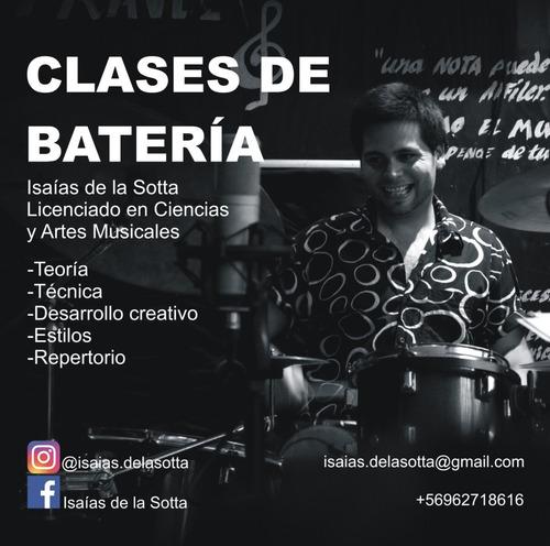 clases de batería (online)