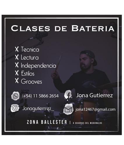 clases de bateria online - villa ballester
