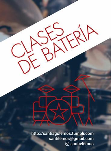 clases de batería presencial / online