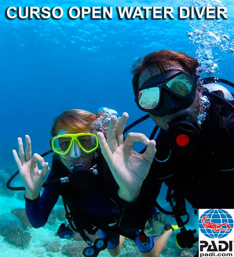 clases de buceo padi - open water diver