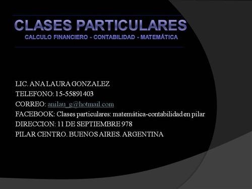clases de calculo financiero- contabilidad y matematica