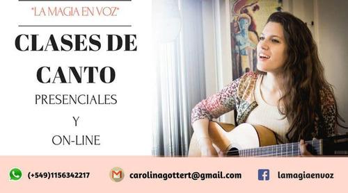 clases de canto en villa urquiza / belgrano / ortúzar