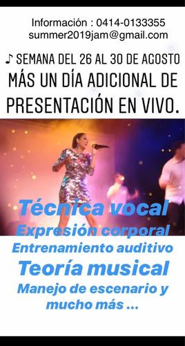 clases de canto ,entrenamiento vocal ,técnicas