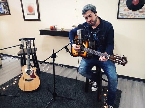 clases de canto y guitarra personalizadas stgo