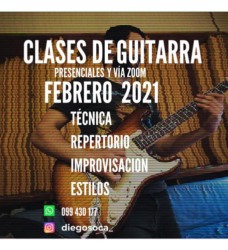 clases de canto y guitarra [presenciales y online]