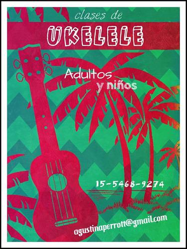clases de canto y ukelele (palermo, chacarita, colegiales)