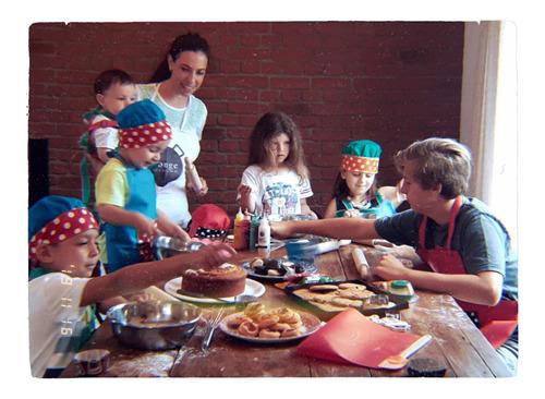 clases de cocina navideña para chicos