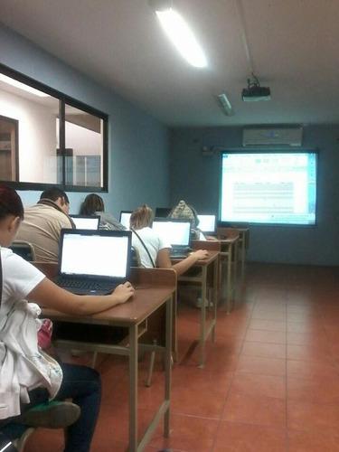clases de computación/ cursos virtuales.