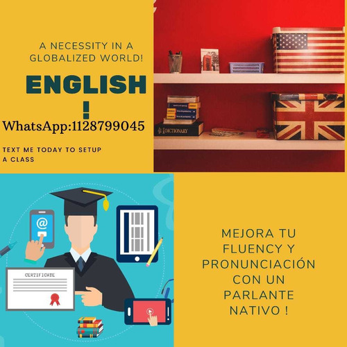 clases de conversacion de ingles.¡¡¡with a native speaker!!!