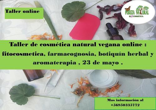 clases de cosmética natural vegana online