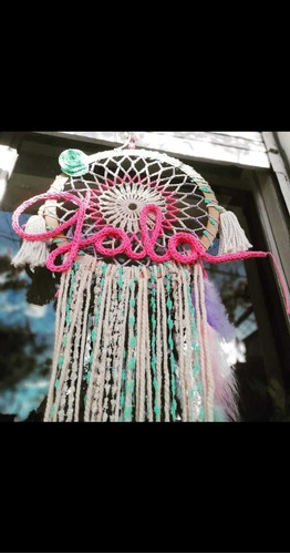 clases de crochet decoración en flores caba