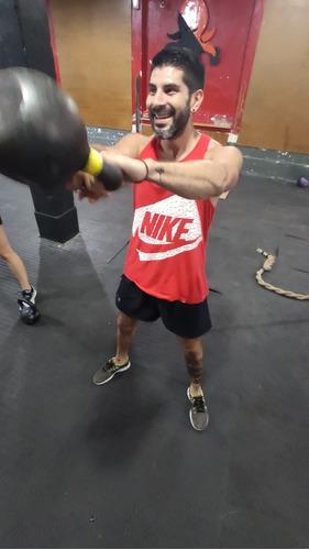clases de crossfit y kickboxing