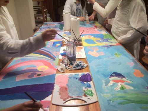 clases de dibujo & pintura para niños. taller en montevideo