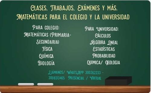 clases de estadistica, matematicas, rstudio, spss