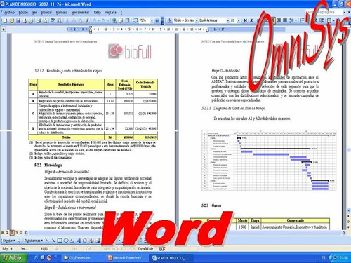 clases de excel word power point access project visio office