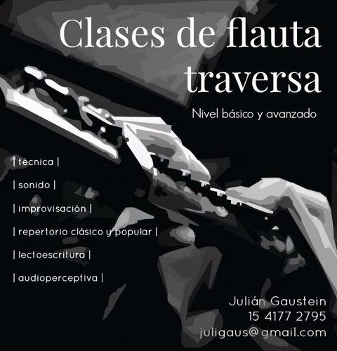 clases de flauta traversa e improvisación