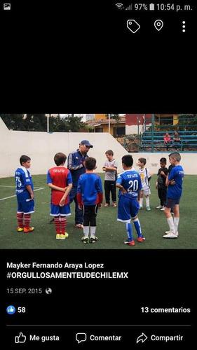 clases de futbol y acondicionamiento fisico