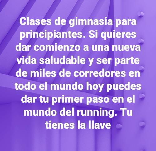 clases de gimnasia ( running )