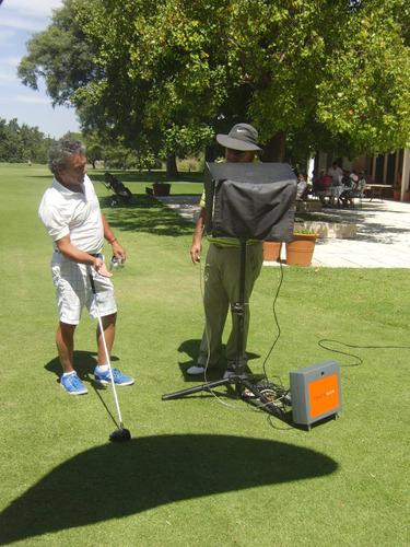 clases de golf - última tecnología -trackman y sam putt lab