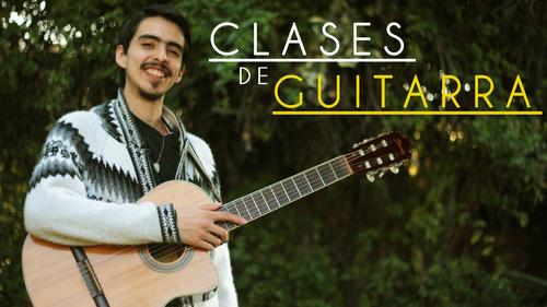 clases de guitarra acústica y eléctrica (a domicilio) viña
