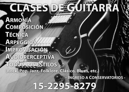 clases de guitarra almagro,caballito,microcentro-balvanera