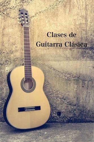clases de guitarra clásica!!!