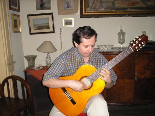 clases de guitarra clásica en palermo y recoleta- ver videos