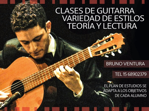 clases de guitarra criolla en caballito y a domicilio