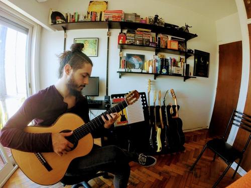 clases de guitarra criolla y eléctrica en recoleta - palermo
