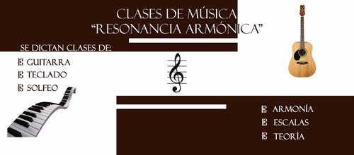clases de guitarra, cursos de guitarra y teclado
