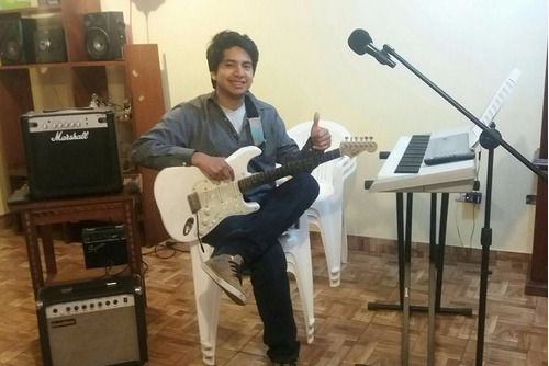 clases de guitarra electrica a domicilio