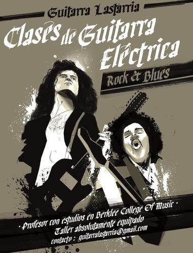 clases de guitarra eléctrica: absolutamente personalizadas.