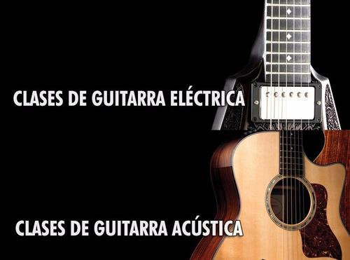 clases de guitarra eléctrica y música - bogotá - a domicilio