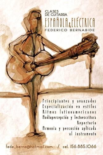 clases de guitarra haedo, ramos mejia, villa luzuriaga moron